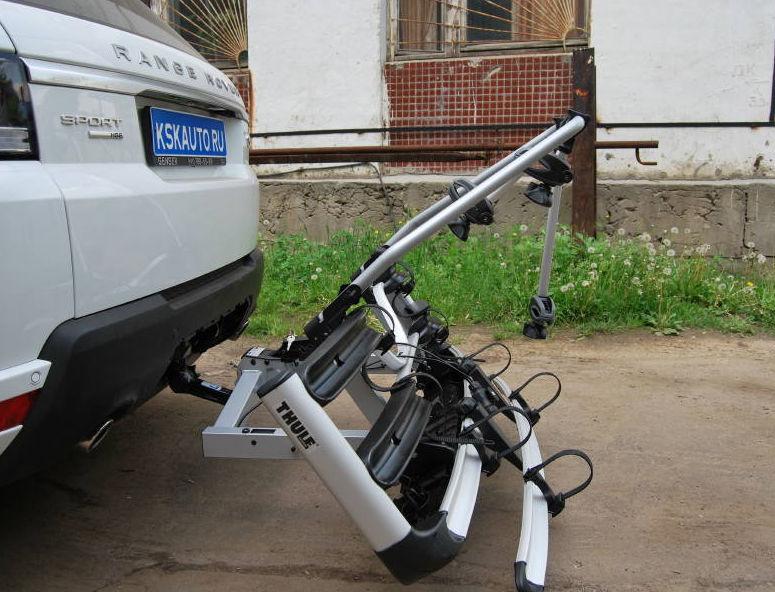 Велокрепления на фаркоп, велоплатформы