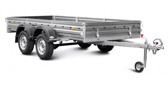 Прицеп для стройматериалов и других грузов Модель: МЗСА 817732.012